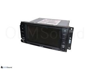 Jeep Dodge Chrysler RBZ MyGIG 430 UConnect Touchscreen Radio DVD Player High OEM