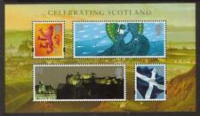 GB MNH 2006 mss153 Celebrazione Scozia MINISHEET