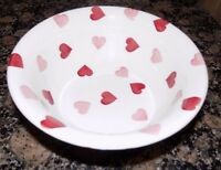 "emma bridgewater PINK HEARTS   CEREAL BOWL  BOWL 6.5""   NEW"