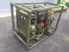MILITARY MEP-501A DIESEL POWERED ENGINE GENERATOR SET 2KW 28VDC