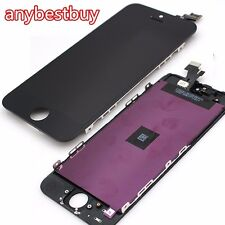 TOUCH SCREEN + LCD DISPLAY RETINA FRAME PER APPLE IPHONE 5 VETRO SCHERMO NERO A+