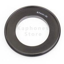 67mm Macro Reverse Mount Adapter For Nikon F D3300 D5300 D610 D7100 D4s D5200 D3