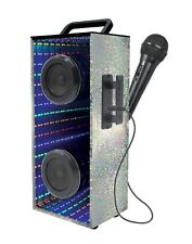 Lexibook Portable  Bluetooth Sing along Speaker With Microphone And LED Lights