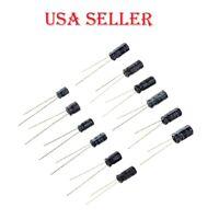 120pcs 0.22µF-470µF Aluminum Electrolytic Capacitor Assortment Kit Set-12 Values