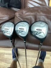 LT Wilson 1200 Golf Clubs 1,3,5 Woods