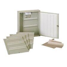 MMF STEELMASTER LIT-NING Modular Key Cabinet 60-300 Keys Platinum KC60300PL