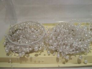 Set of 3 Cascading Pearl Candle Rings Pearl by Valerie Parr Hill NOB
