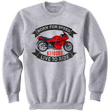 BMW K1100RS - NEW COTTON GREY SWEATSHIRT ALL SIZES IN STOCK