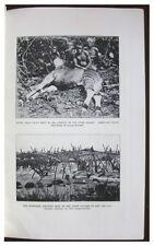 1915 Christy - ITURI RIVER - Pygmies - WILD GAME HUNTING - Volcanic Eruption - 9