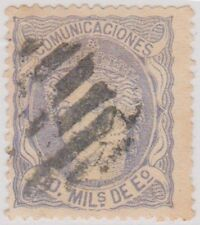 Stamp (SP3) 1870 Spain 50m Blue