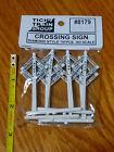 Tichy Train Group HO 8179 Crossing Signs Diamond Style  10pcs. Plastic