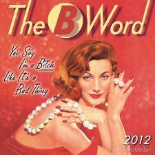 The B Word 2012 Mini (calendar)