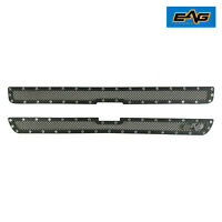 Fit 99-02 Chevy Silverado 1500 Grille Front Hood Rivet Steel Mesh Insert