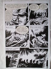 A L'ARME BLANCHE  SPECTACULAIRE PLANCHE GEANTE ELVIFRANCE  PAGE 13