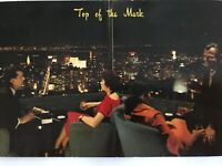 Top of the Mark Cocktail Lounge San Francisco California Postcard 1960s Unposted