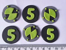30 x cupcake cake toppers ben 10 boys birthday party decorations