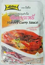 Lobo  Stir-Fry Curry Sauce.Chinese style food,very easy to cook, Halal.50g.