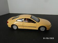 "Peugeot 406 Coupe  Jaune  ""Solido "" 1:43"