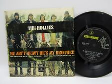 """THE HOLLIES He Ain't Heavy He's My Brother 7"""" Australian EP GEPO 70068"""