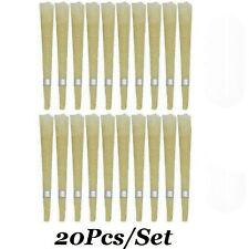 20 PCS bougies de cérumen oreille mirage creux mélange cône cire d'abeille