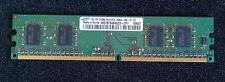 BARRETTE MEMOIRE RAM 512MB DDR2 1Rx16 666MHz PC2-6400U M378T6464QZ3 CF7 SAMSUNG