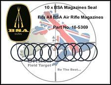 10 x BSA Magazines Seal Fits All BSA Air Rifle Magazines Part No. 16-5369