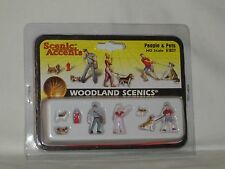 WOODLAND SCENICS SCENIC ACCENTS PEOPLE & PETS #A1827 HO SCALE