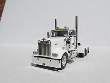DCP 1/64 SCALE W-900 KENWORTH DAY CAB WHITE - TRACTOR ONLY