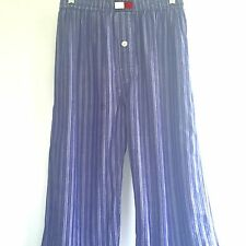 Vintage Tommy Hilfiger Mens Pajama Pants 90's Spell Out Color Block Big Flag M