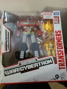 Transformers War for Cybertron Trilogy Deluxe optimus prime - F0506