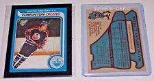 ( WAYNE GRETZKY ) 1979-80  OPC #18 Reprint  Rookie O Pee Chee Oilers HOF card