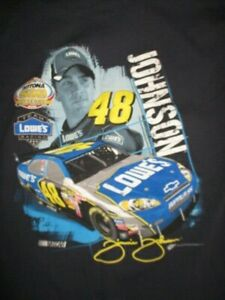 2008 JIMMIE JOHNSON No. 48 NASCAR Daytona 500 LOWE'S Racing Team (MED) T-Shirt