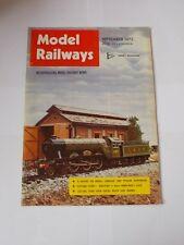 Model Railways Magazine Vol 1 No 13  September 1972.