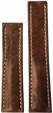 22x18 RIOS1931 for Panatime Burnt Chestnut Watch Strap For Breitling Deploy