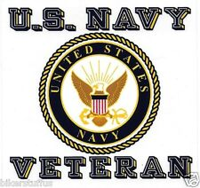 US NAVY SEAL VETERAN BUMPER STICKER CLEAR BACKGROUND