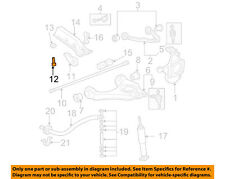 GM OEM Front Suspension-Torsion Bar Adjust Bolt 14041596