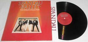 SPANDAU BALLET THE SINGLES COLLECTION LP 1985 + INNER