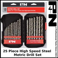 P&N by Sutton 25 Piece Metric High Speed Steel Drill Bit Set