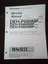Pioneer Service Manual for the DEH P680MP P6800MP P6850MP Car Stereo  mp