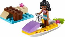 Lego Friends 41000 Water Scooter Fun Complete Set w/ Manual & Minifigure(No Box)