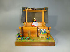 EXC VINTAGE SWISS REUGE DANCING BALLERINA AUTOMATON MUSIC BOX ( Watch The Video)