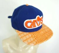 New Era 9Fifty Cleveland Cavs blue cap or scales logo flat bill Hat buckle back