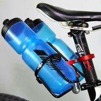 1X(MZYRH Bicycle Double Water Bottle Cage Holder Mount Adapter Adjustable  W7U0