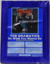 THE DRAMATICS - DO WHAT YOU WANNA DO - 1978 - FACTORY SEALED 8-TRACK TAPE