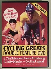 THE SCIENCE OF LANCE ARMSTRONG / EDDY MERCKX CYCLING LEGEND   DVD