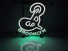 Brooklyn New York Beer Sign Neon Lit NIB Authentic Brewery Light
