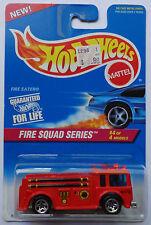 1996 Hot Wheels ~Fire Squad~ Fire Eater 4/4 (Red Version)(5 Spoke Wheels)