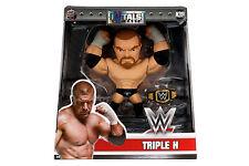 """WWE 6"""" Jada Die Cast Metals HHH Triple H w/Championship Belt M209 New Arrival"""
