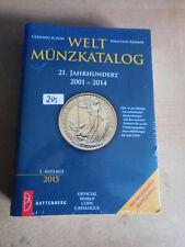 Weltmünzenkatalog  Inhalt die Jahre 2001-2014 unbenutzt in Deutscher Sprache