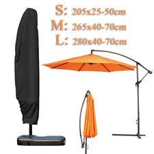 3 Sizes Parasol Banana Umbrella Cover Cantilever Outdoor Garden Patio Shield UK
